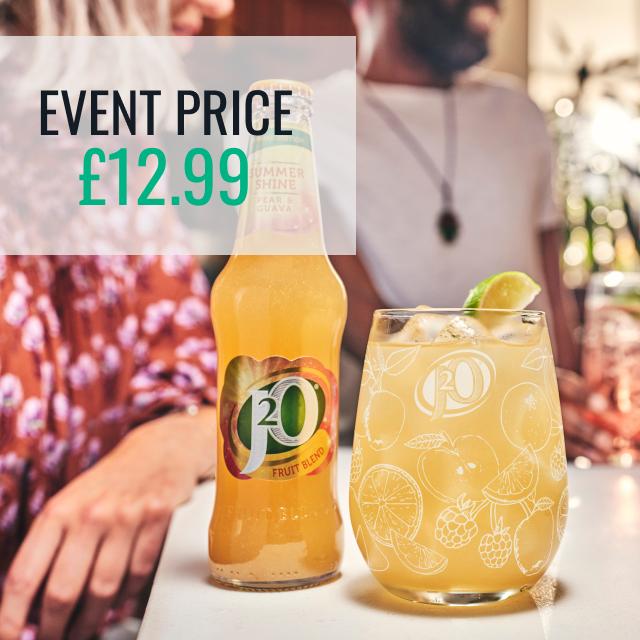 J2O Summer Shine - Event Price £12.99