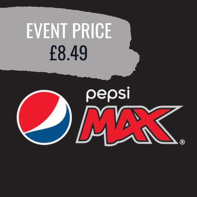 Pepsi Max / 7UP 330ml NRB - Event Price £8.49