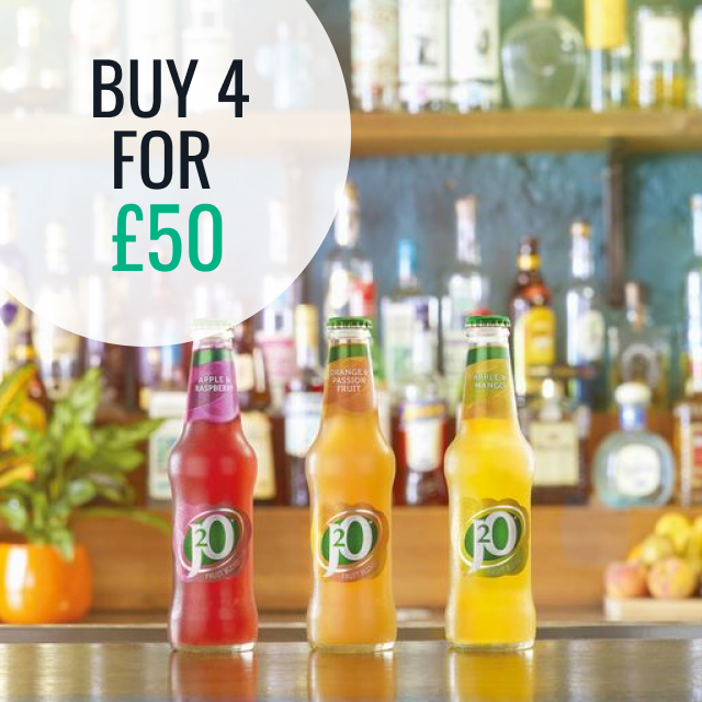 J2O Multi-buy - Buy 4 for £50