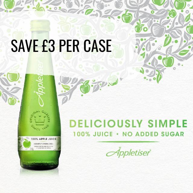 Appletiser 275ml - Save £3 per case