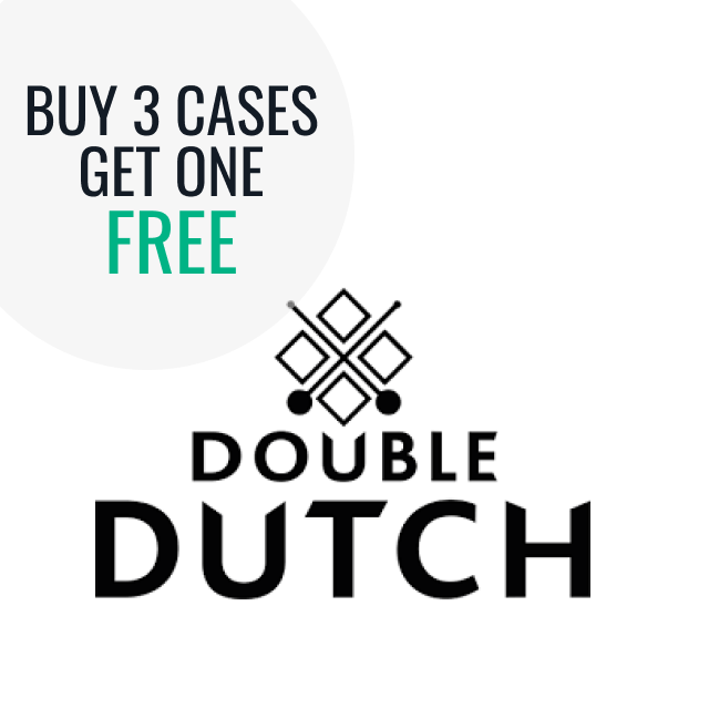 Double Dutch - Buy 3 cases get 1 free