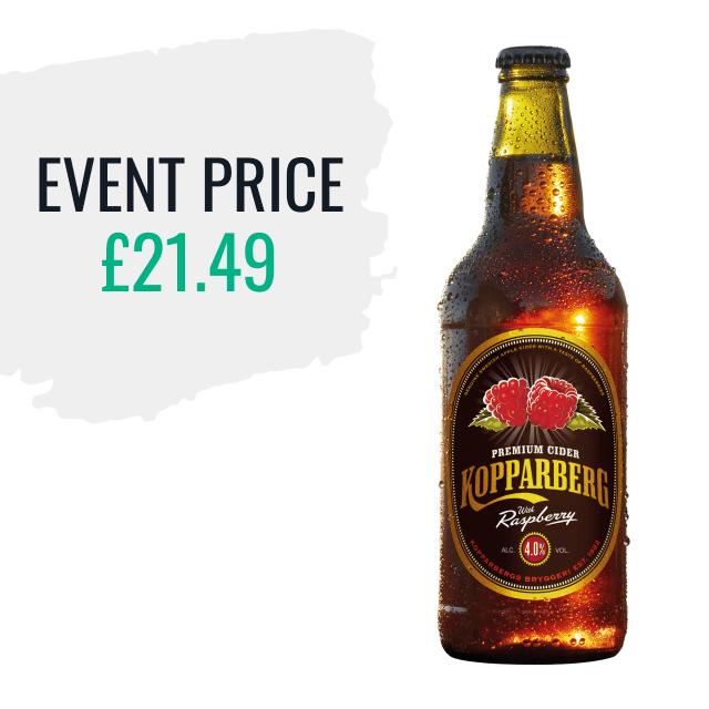 Koppaberg Raspberry Cider - Event Price - £21.49