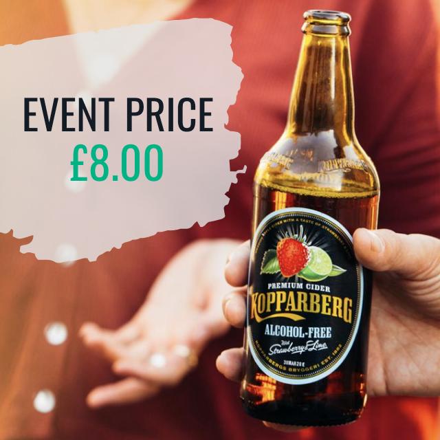 Koppaberg Alcohol Free Cider - Event Price - £8.00