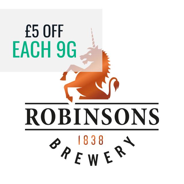 Robinsons - £5 off each 9G