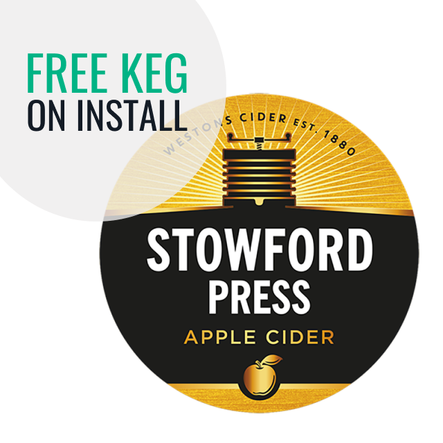 Install Stowford Press and receive a free Keg